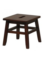 Walnut Conductor Stool - Winsome 94213