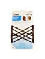 Scunci Double Combs Upzing Medium Black Or Dark Brown