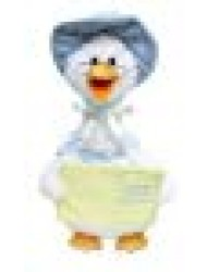 "Cuddle Barn Mother Goose 14"" Musical Plush"