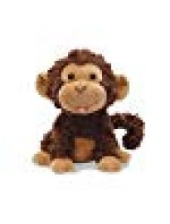 "Cuddle Barn Crackin' Up Coco Monkey Animated Musical Plush Toy, 10"" Super Soft Cuddly Stuffed Animal will Have your Child Cracking up at its Fun Movement, Contagious Laughter and Funny Monkey Noises"