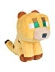 "JINX Minecraft Happy Explorer Baby Ocelot Plush Stuffed Toy (Multi-Color, 5.5"" Tall)"