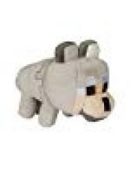 "JINX Minecraft Happy Explorer Untamed Wolf Plush Stuffed Toy (Grey, 5.5"" Tall)"