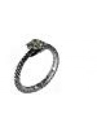 The Sophia Serpent Ring Ouroboros by Alchemy Gothic - size 6.5