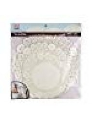 Sweet Creations 72 Count Round Lace Paper Doilies, Assorted Sizes