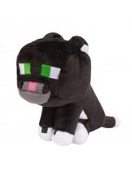 "JINX Minecraft Tuxedo Cat Plush Stuffed Toy Multi-Color, 8"" Tall"