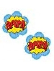 Neva Nude BAM Superhero Nipztix Pasties Nipple Covers