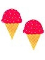 Neva Nude Ice Cream Nipztix Pasties Nipple Covers