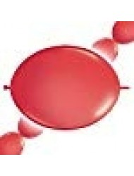 Qualatex Quick Link Balloons - Red - Bag of 50