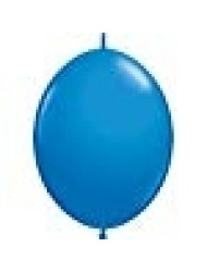 Qualatex Quick Link Balloons - Dark Blue - Bag of 50