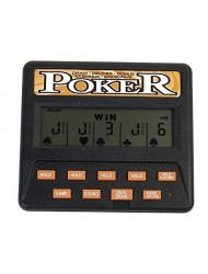 Classic 5-in-1 Poker Electronic Games.