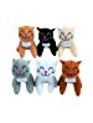 Fun Express Plush Realistic Cats (1 Dozen)
