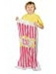 Fun Express Set of 6 - Woven Plastic Carnival Design Potato Sacks