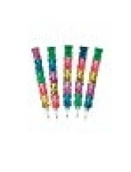 Fun Express Stackable Plastic Bear Pencils (12 Count)