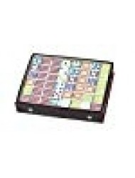Double 12 Color Dot Dominoes Game