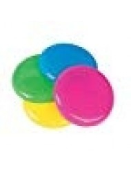 Fun Express - Mini Flying Saucers (72pc) - Toys - Active Play - Flying Discs & Kites - 72 Pieces