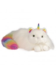 Douglas Toys Ziggy The Caticorn Rainbow Fuzzle Cat Unicorn Stuffed Animal Toy