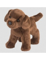 Douglas Cuddle Toys TUCKER Chocolate Lab