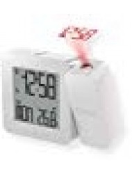 Oregon Scientific RM338PA_W Model RM338 PROJI Projection Atomic Alarm Clock, Indoor Temperature, Calendar Alarm, Snooze Functions, Dual Alarm, White