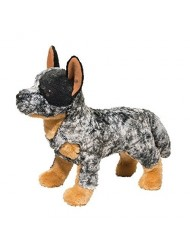 "BOLT Douglas 13"" plush AUSTRALIAN CATTLE DOG stuffed animal toy"