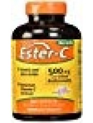 American Health Ester-C with Citrus Bioflavonoids Capsules - 24-Hour Immune Support, Gentle On Stomach, Non-Acidic Vitamin C - Non-GMO, Gluten-Free - 500 mg, 240 Count, 120 Servings