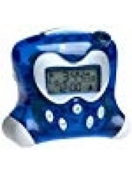 Oregon Scientific RM313PNA_BL Model RM313PNA Projection Atomic Alarm Clock, Indoor Thermometer, HiGlo Electro-luminescent Backlight, Crescendo Alarm with Snooze Function, Blue