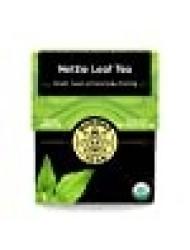 Organic Nettle Leaf Tea - Kosher, Caffeine-Free, GMO-Free - 18 Bleach-Free Tea Bags