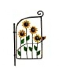 Sunflower Gate for Miniature Garden, Fairy Garden