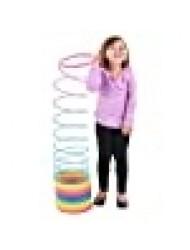 "Rhode Island Novelty 7"" (175MM) Rainbow Jumbo Coil Spring"