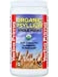 Yerba Prima Organic Psyllium Whole Husks, 12 Ounce Fiber Supplement, Non GMO