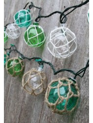 Nautical Retro Glass Plastic String Lights-Assorted Styles