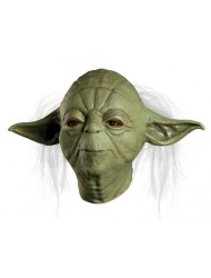 Star Wars Master Yoda Deluxe Overhead Latex Mask - Adult One size