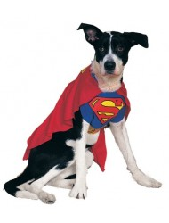 Rubies Costume DC Heroes and Villains Collection Pet Costume, Superman, Medium