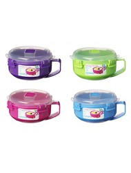 Sistema Oatmeal Porridge To Go Microwave Container Assorted Colors
