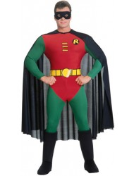 Rubie's Costume Classic Batman Deluxe Robin, Red/Green, Medium Costume