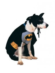 Rubies Costume DC Heroes and Villains Collection Pet Costume, Classic Batman, Medium