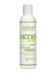 Alba Botanica Natural Acnedote Deep Pore Wash, 6 Ounce