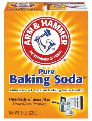 Arm & Hammer Pure Baking Soda -  8oz.