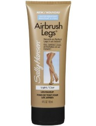 Sally Hansen Airbrush Legs Lotion, Light, 4 oz