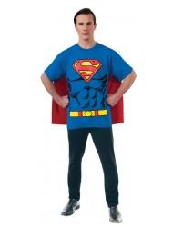 Rubie's DC Comics Superman T-Shirt Costume -  Adult's X-Large