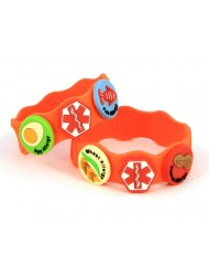 Allerbling Food Allergy Awareness Bracelet