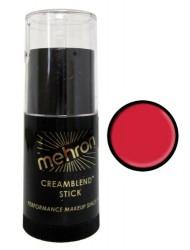 Mehron CreamBlend Stick Makeup - Really Bright Red (0.75 oz)