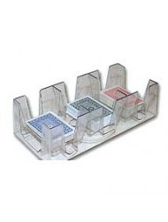 Revolving Playing Card Tray/Holder 1 to 9 Decks