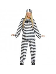 Adult Jailhouse Honey Costume, One Size.