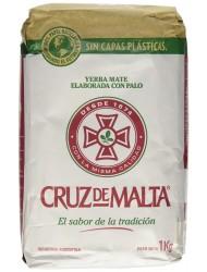 Cruz de Malta Yerba Mate, 1 Kilo / 2,2 Lbs