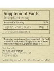 Senna Leaf Tea Organic Alvita Tea 24 Bag