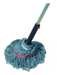 Self-Wringing Ratchet Twist Mop with Blended Yarn Head, 54-inch (1818664)-