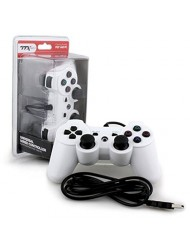 TTX Tech PS3/PC Wired USB Controller - White
