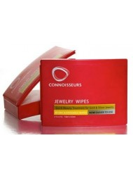 Connoisseurs Jewelry Wipes - World Leader Jewelry Essentials Cleaner 1014-CON
