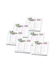 Bunco Score Pads pack of 6