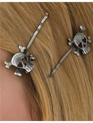 Rubie's Costume Skull Hairpins